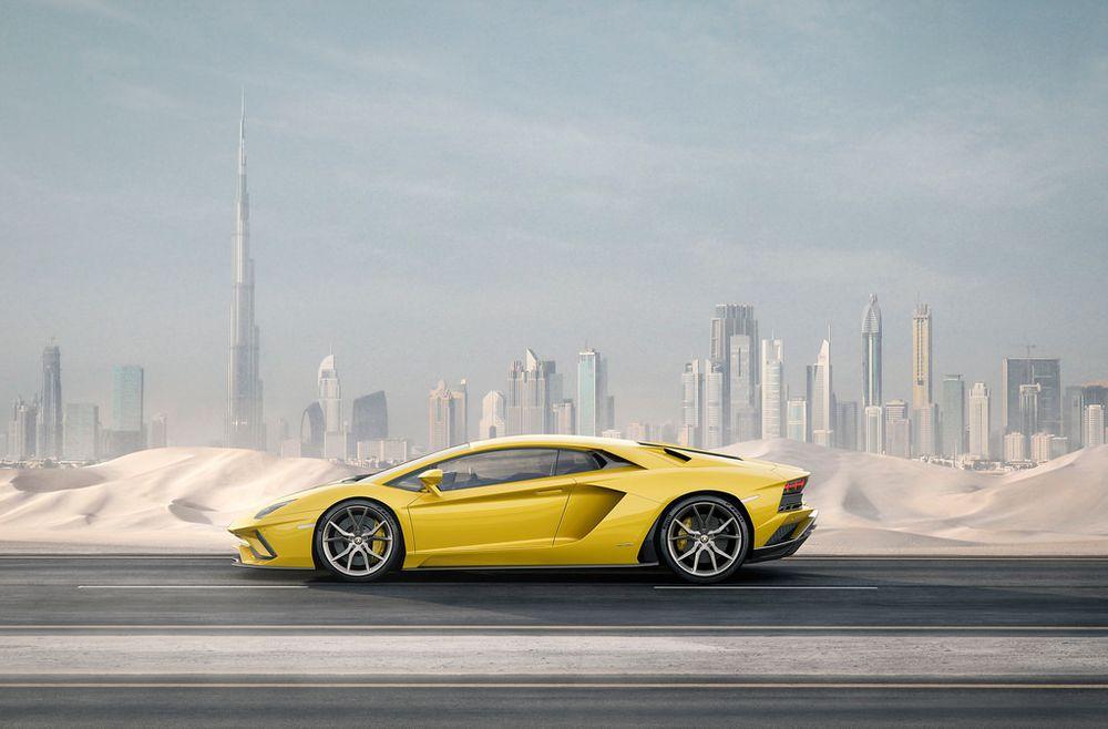 لامبورجيني افنتادور اس 2019, الإمارات