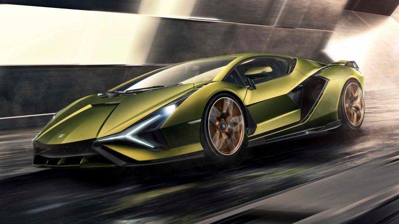 Lamborghini Sian FKP 37 2020, Saudi Arabia