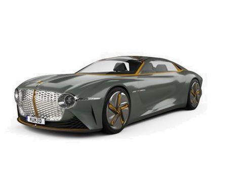 Bentley EXP 100 GT 2019, Saudi Arabia