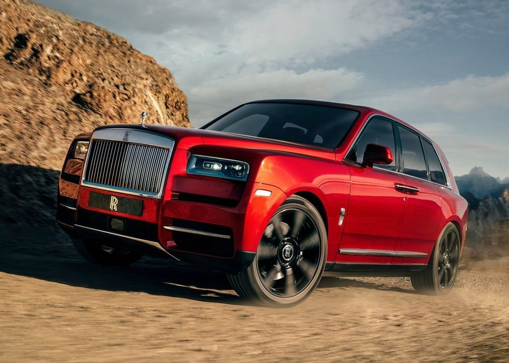 Rolls Royce Cullinan 2020, Saudi Arabia