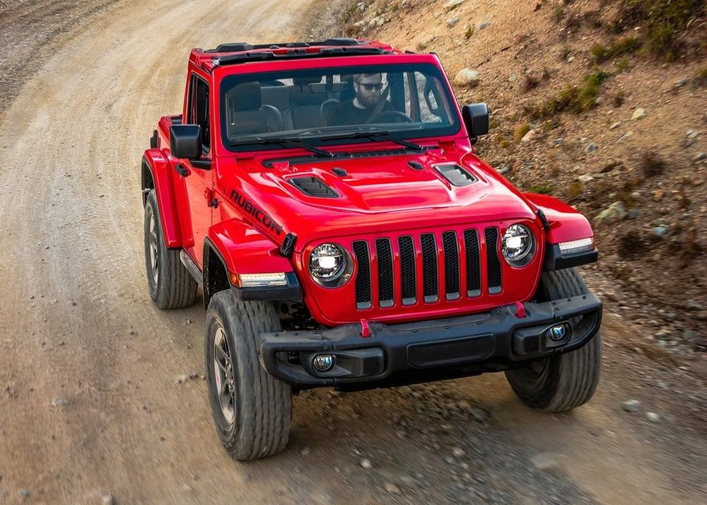 Jeep Wrangler 2020, United Arab Emirates