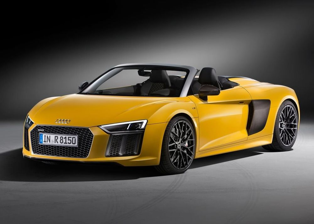 Audi R8 Spyder Price in UAE - New Audi R8 Spyder Photos ...