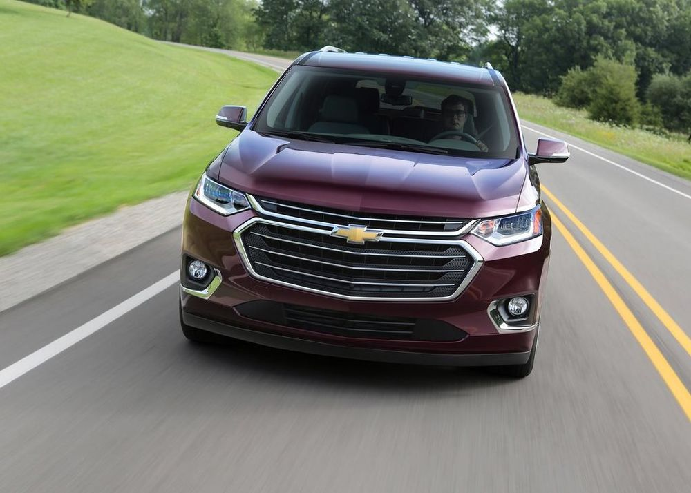Chevrolet Traverse 2020, Oman