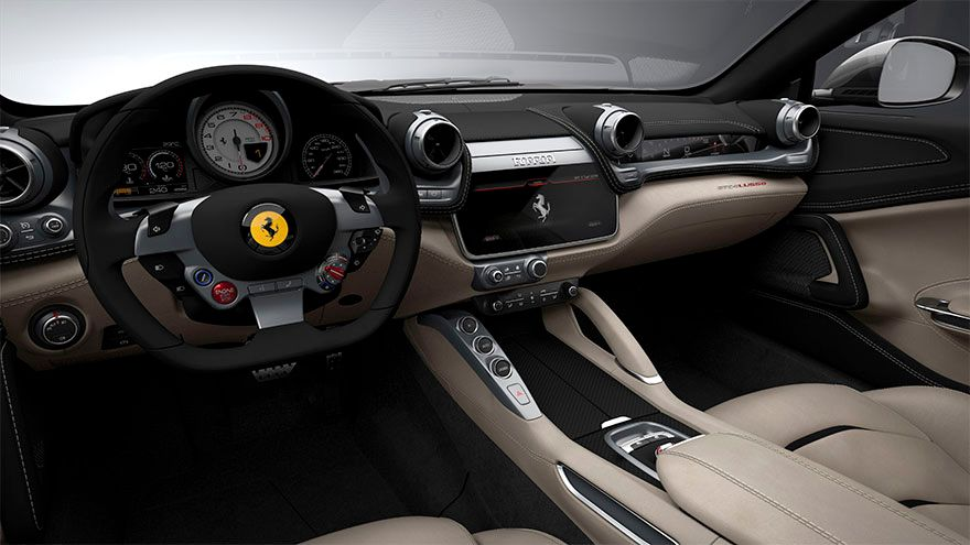 Ferrari GTC4Lusso 2020, United Arab Emirates