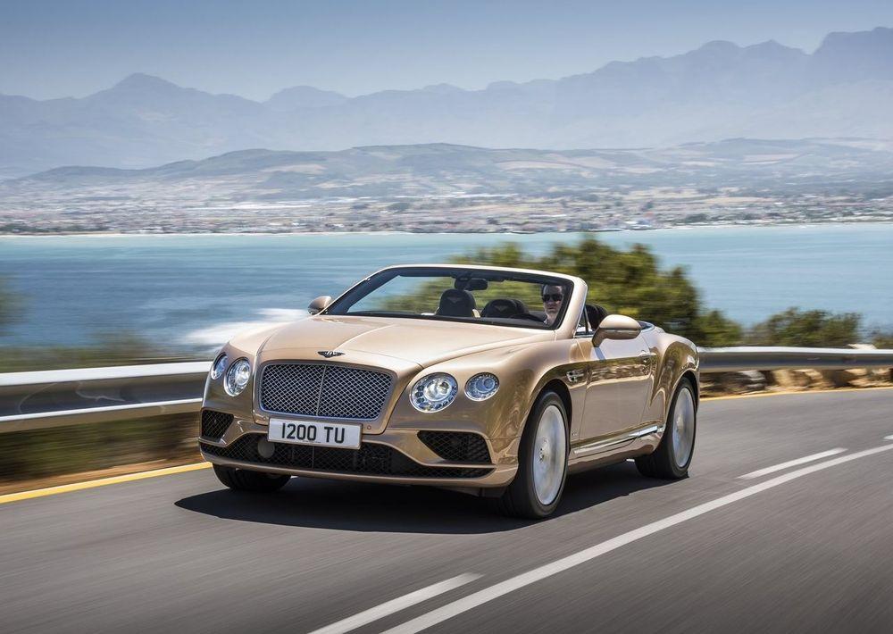 Bentley Continental GT Convertible 2020, Egypt