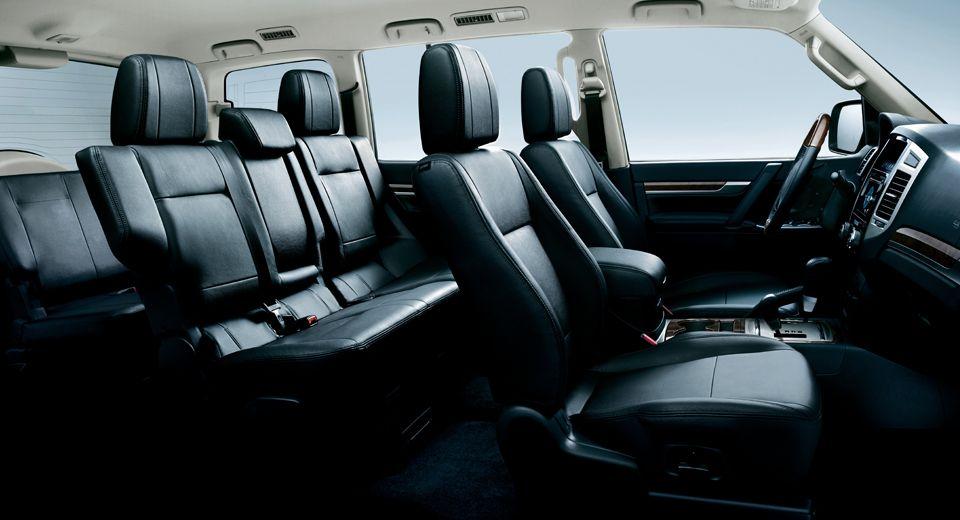 Mitsubishi Pajero 2020, United Arab Emirates