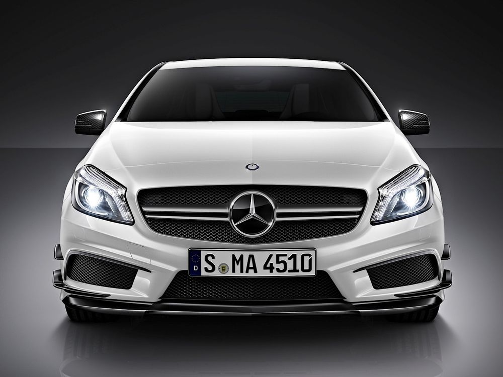 Mercedes-Benz A 45 AMG 2020, United Arab Emirates