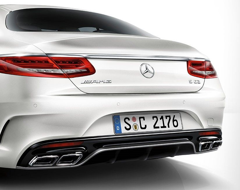 Mercedes-Benz S 63 AMG Coupe 2020, Kuwait