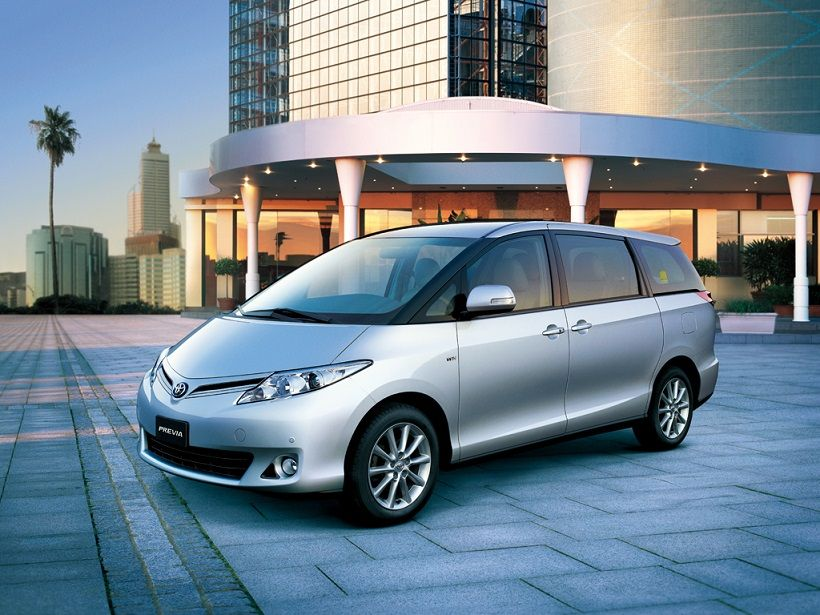 Toyota Previa 2020, United Arab Emirates