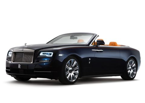 Rolls Royce Dawn 2020, Saudi Arabia