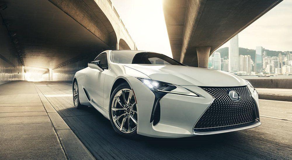 Lexus LC 500 2020, Kuwait