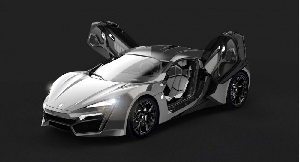 W Motors Lykan HyperSport 2020, United Arab Emirates