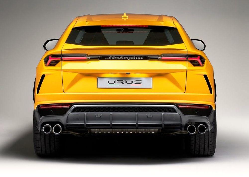 Lamborghini Urus 2020, United Arab Emirates