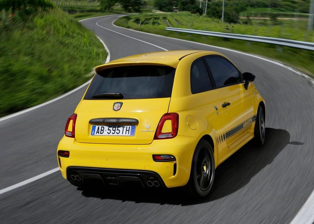 Abarth 595 2020, United Arab Emirates