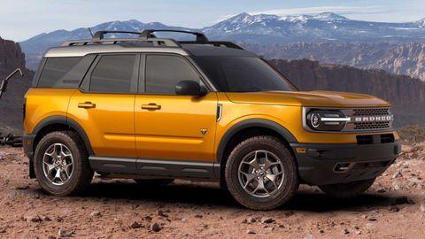 Ford Bronco Sport 2021 4 Doors In Uae New Car Prices Specs