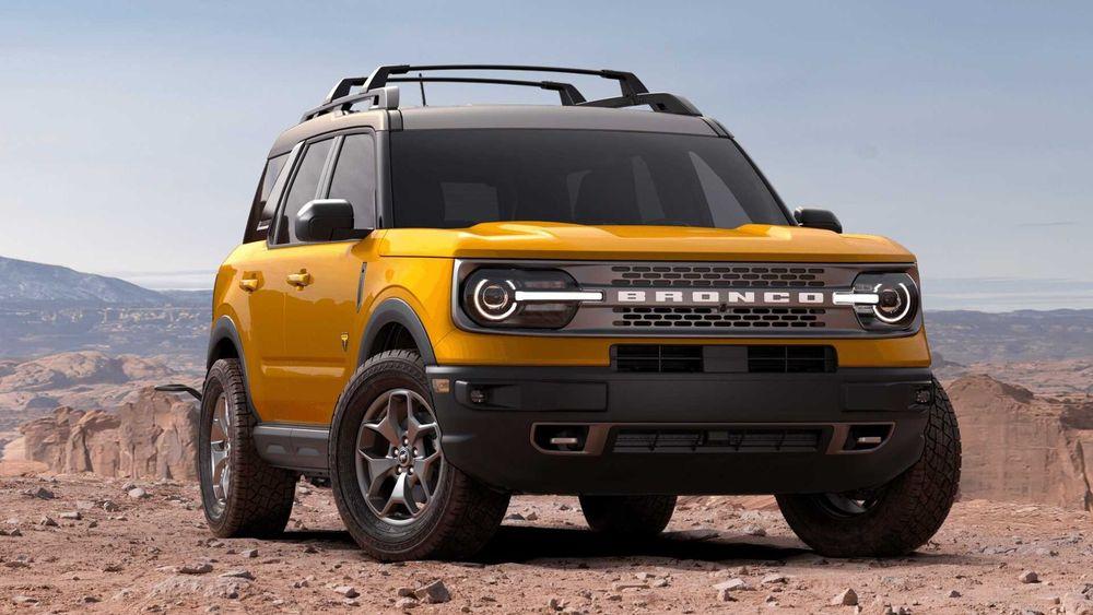 فورد Bronco Sport 2021, oman