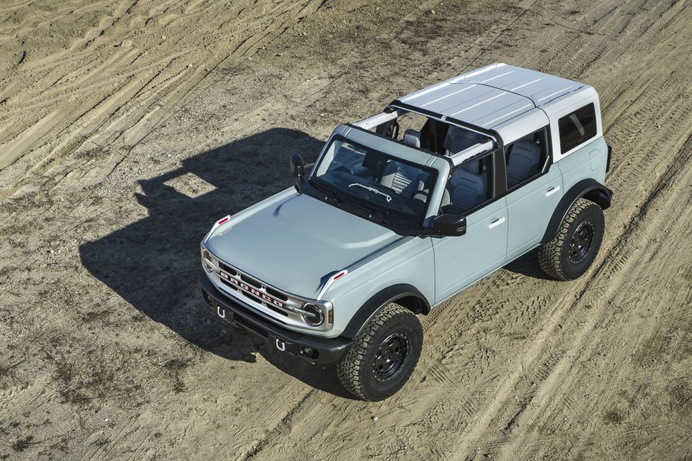 Ford Bronco 2021, Bahrain