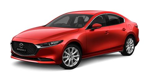 Mazda 3 Sedan 2021 1.5L Luxury , Oman, https://ymimg1.b8cdn.com/resized/car_model/6225/pictures/6204587/mobile_listing_main_maz13977_m3_g25gt_sedan_front3-4_soulredcrystalmetallic_980x520_rgb.png