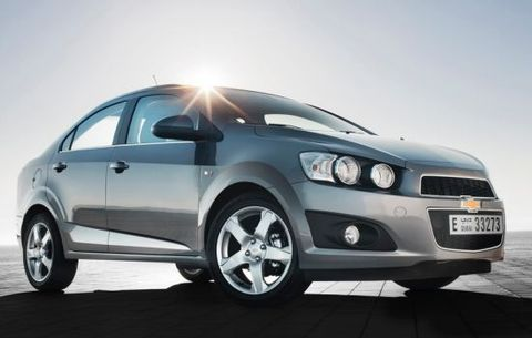 Chevrolet Sonic 2013, United Arab Emirates