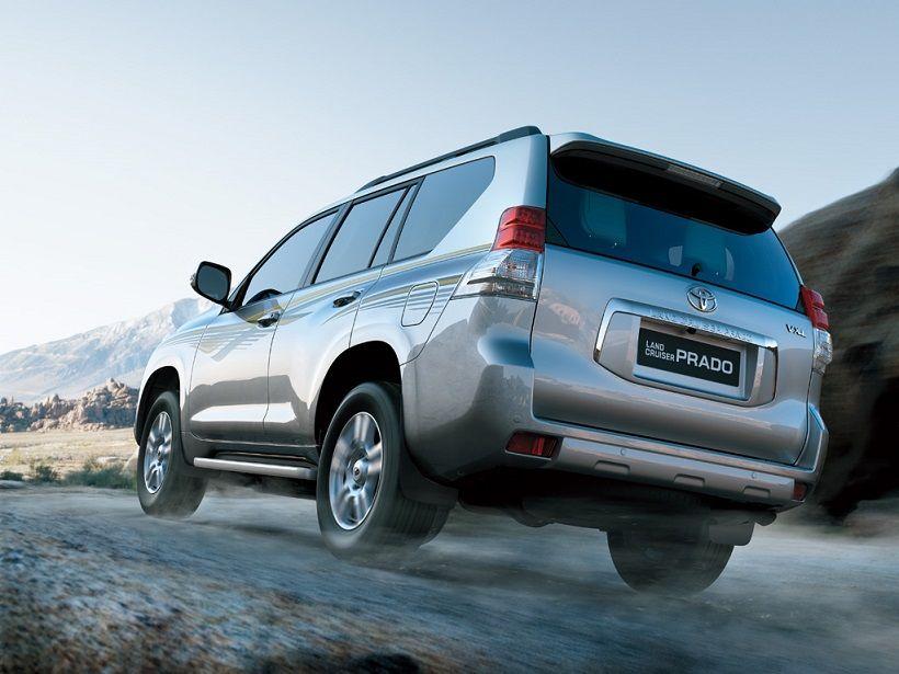 Toyota Land Cruiser Prado 2013, United Arab Emirates