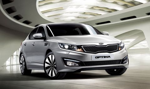 Kia Optima 2013, Kuwait