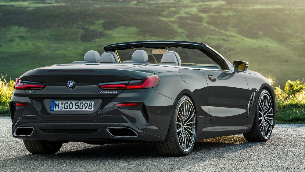 BMW 8 Series Convertible 2021, Egypt