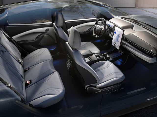 Ford Mustang Mach-E 2021, Saudi Arabia
