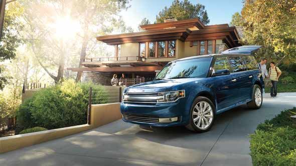 Ford Flex 2013, United Arab Emirates