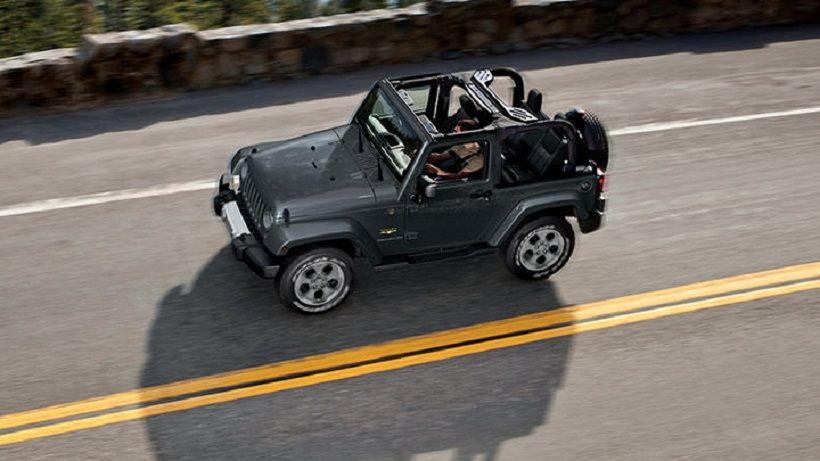 Jeep Wrangler 2013, Kuwait