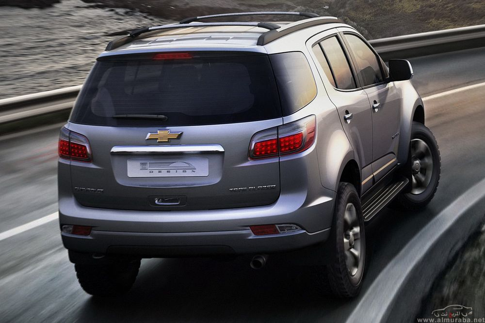 Chevrolet Trailblazer 2013, Oman