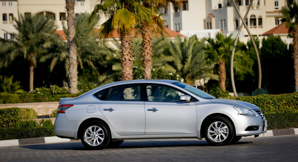 Nissan Sentra 2013, United Arab Emirates