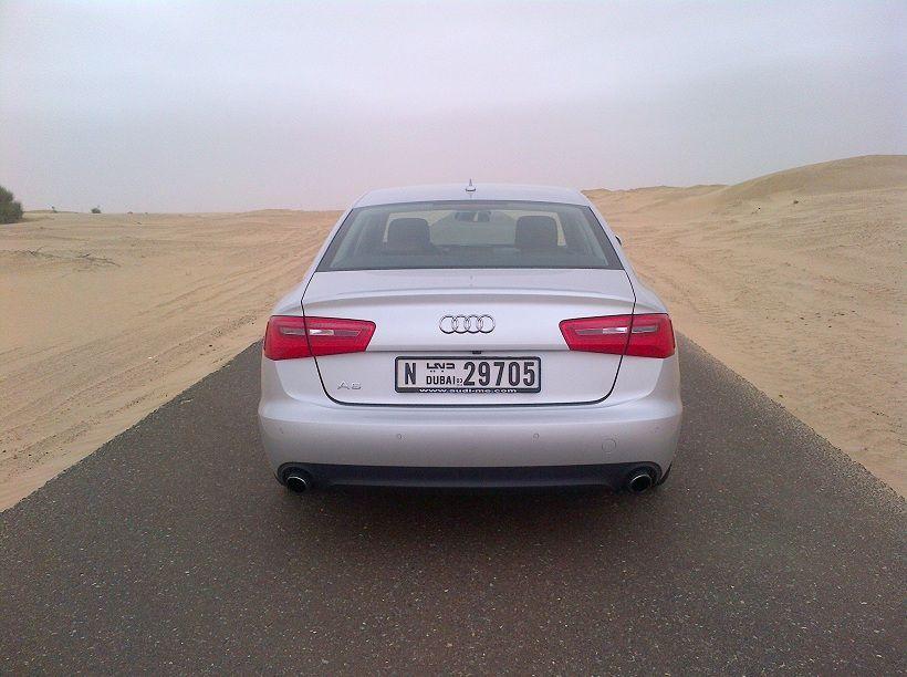 Audi A6 2013, Kuwait
