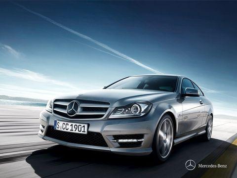 Mercedes-Benz C-Class Coupe 2013, Kuwait