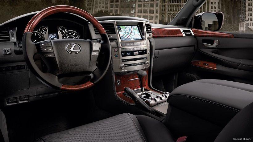 Lexus LX 2013, Kuwait