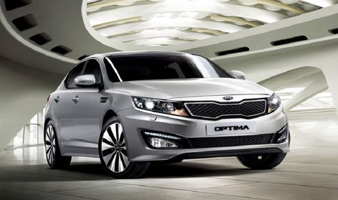Perfect Kia Optima 2014, Bahrain