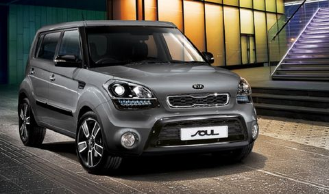 Captivating Kia Soul 2014, Qatar