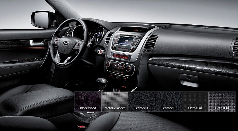 Kia Sorento 2014, United Arab Emirates