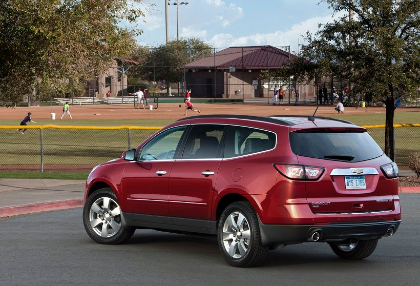 Chevrolet Traverse 2012, Qatar