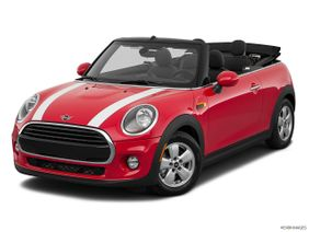 Mini Convertible 2019 Cooper, United Arab Emirates, Front angle view.