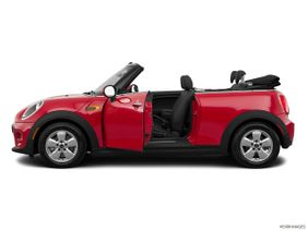 Mini Convertible 2019 Cooper, United Arab Emirates, Driver's side profile with drivers side door open.