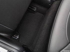 Mini Convertible 2019 Cooper, United Arab Emirates, Rear driver's side floor mat. Mid-seat level from outside looking in.