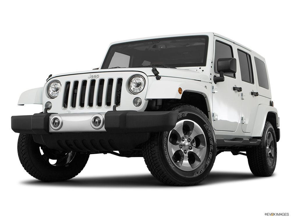 Jeep Wrangler Unlimited 2017, Saudi Arabia