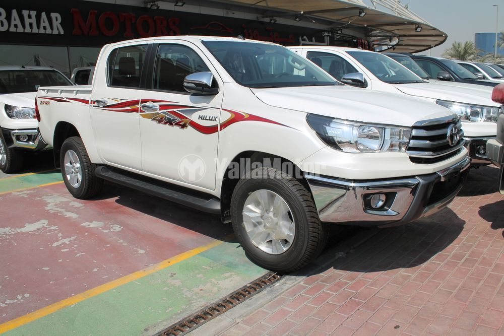 New Toyota Hilux 2 7l Double Cab 4x4 2017