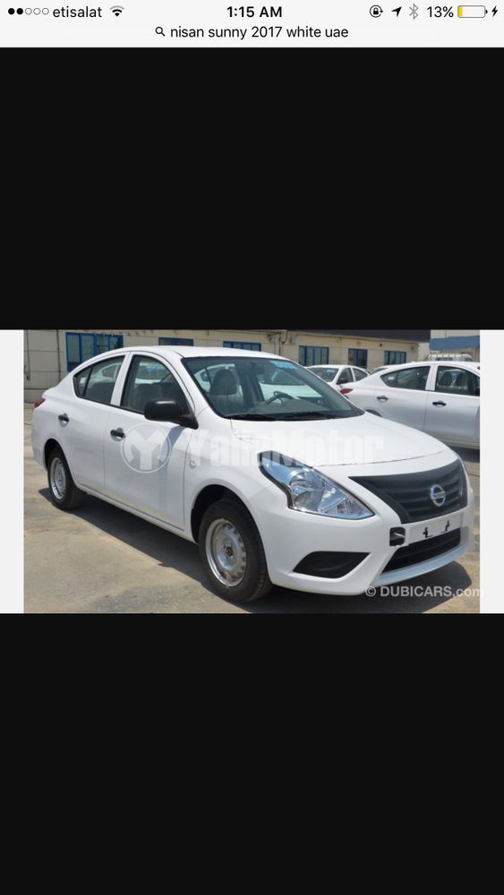 New Nissan Sunny 1 5l S 2017
