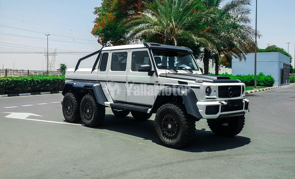 Mercedes 6X6 For Sale >> Used Mercedes Benz G 63 Amg 6x6 2015 Car For Sale In Dubai