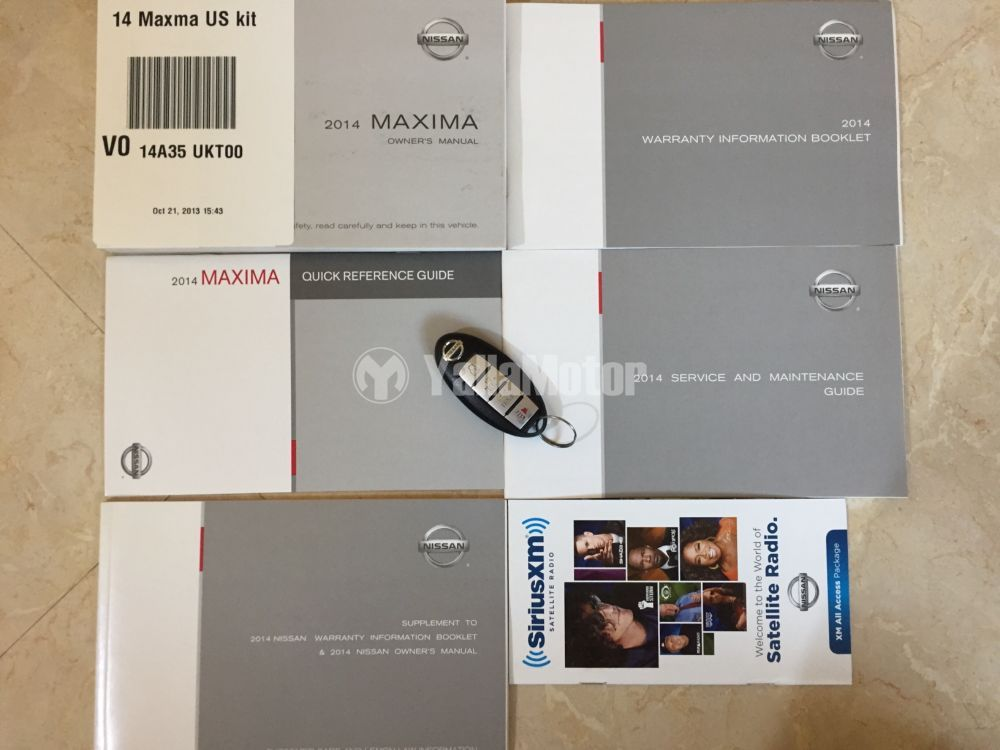 Used Nissan Maxima S 2014 (834933) | YallaMotor com