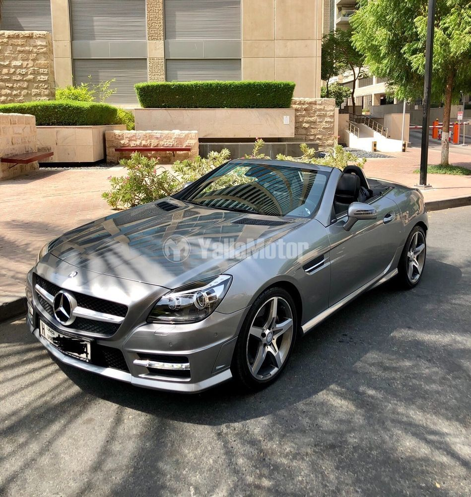 Mercedes Slk 200: مرسيدس بنز الفئة أس أل كاي SLK 200 2015 مستعملة
