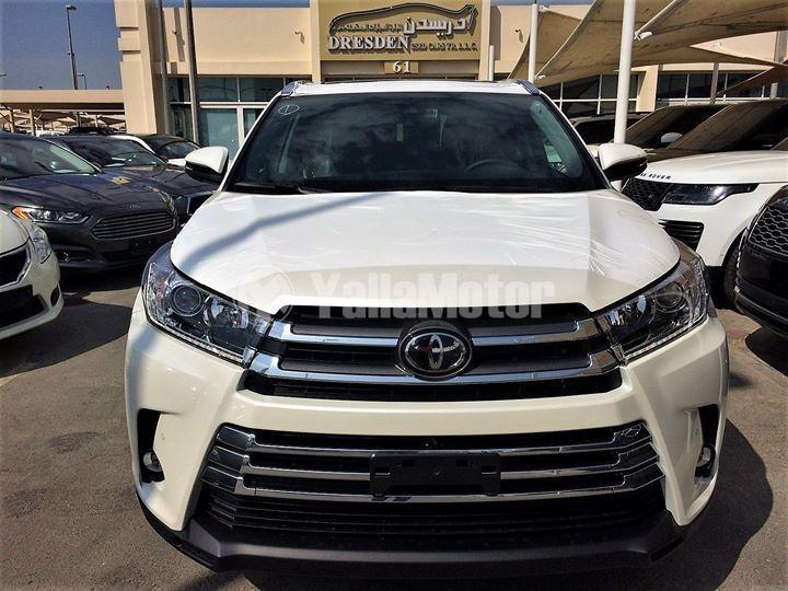New Toyota Highlander 2019