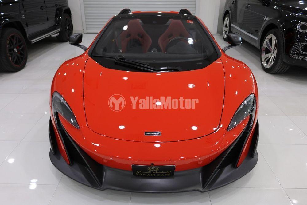 Used McLaren 675 LT Spider 2016