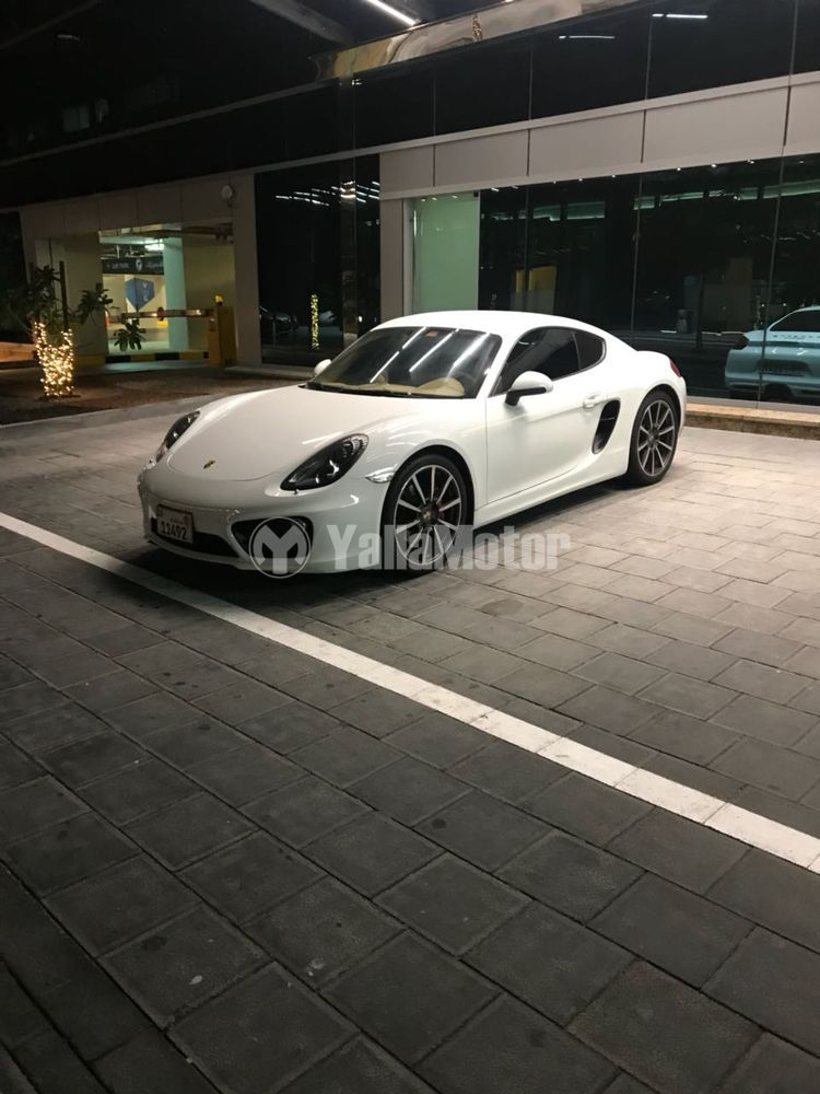 Used Porsche Cayman S 2014 Car For Sale In Abu Dhabi 779895